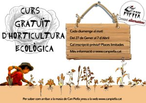 cartell curs horticola color