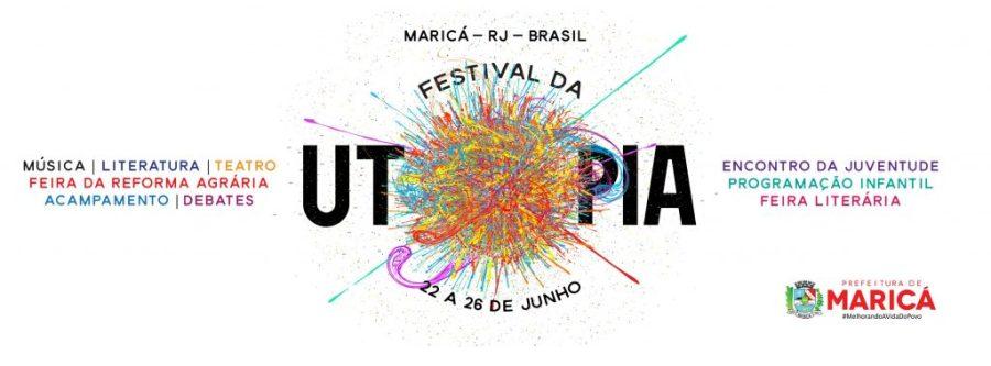 Afiche festival utopia