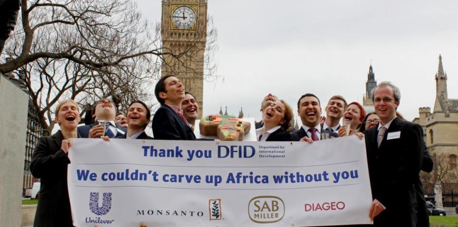 Ayuda internacional Africa