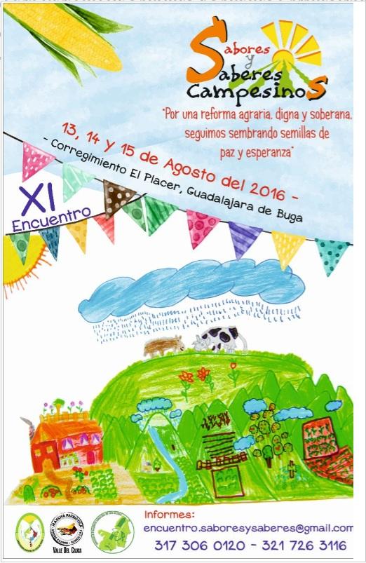 Feria Saberes y sabores Julio