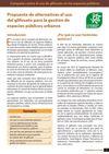 Propuesta de alternativas al uso del glifosato
